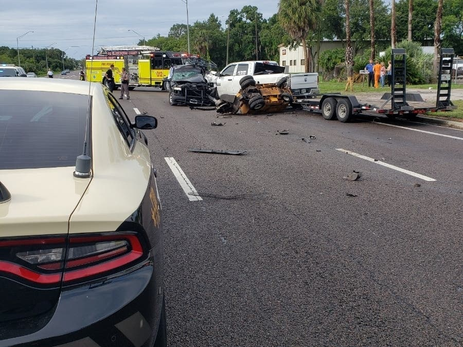 Father Dies In US 301 Pileup