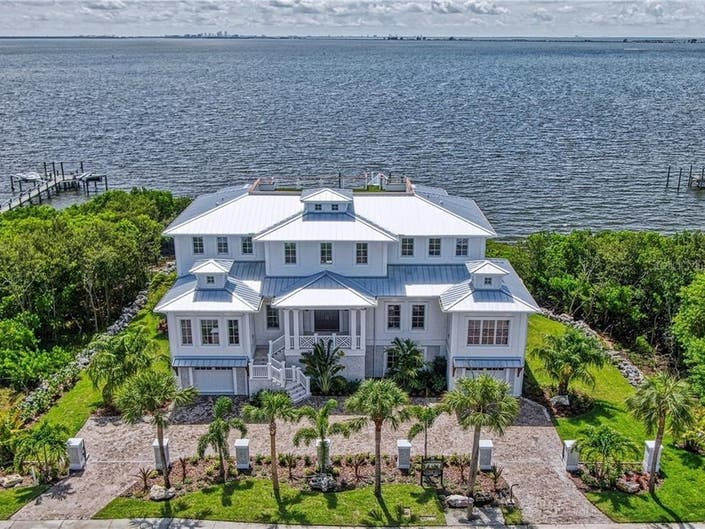 British West Indies-Style Home For Sale In Safety Harbor