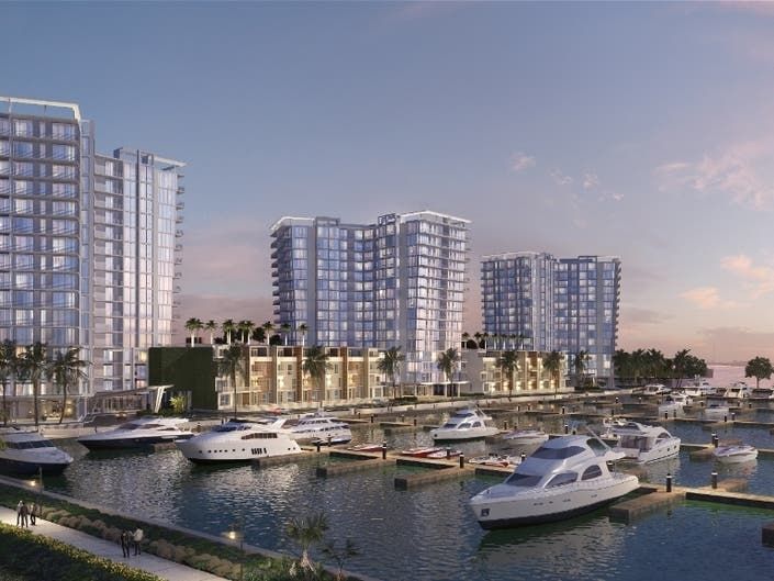 Construction Begins On 1st Of 3 High-Rise Marina Pointe Condos