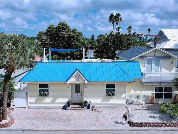 Charming Historic Beach Cottage For Sale On Treasure Island