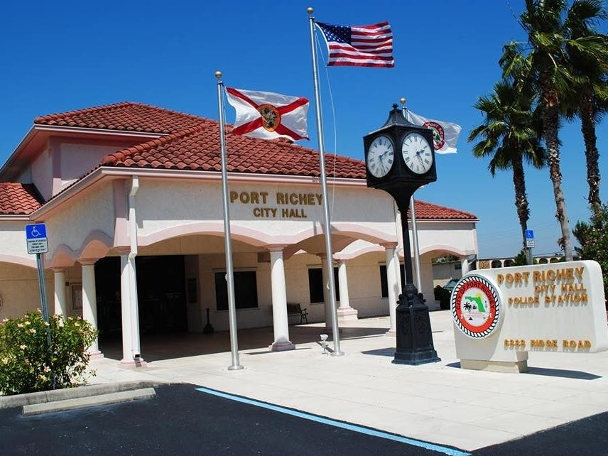 white pages in port richey fl