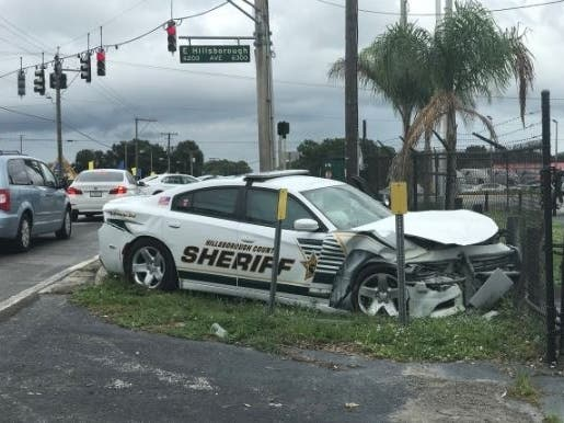 Deputy Collides With Vehicle On Way To Another Crash