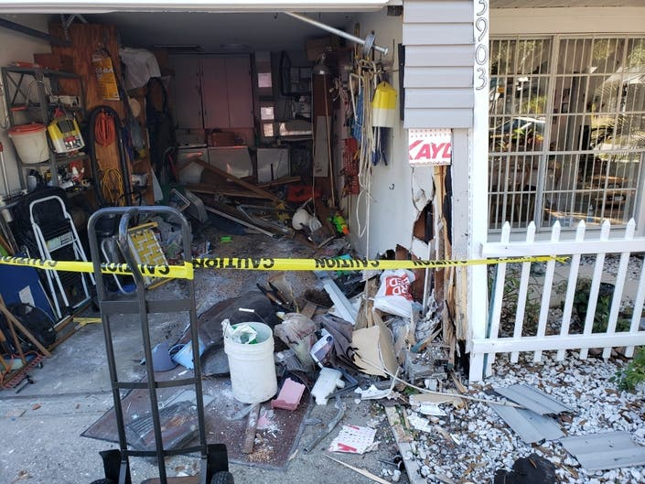 95-Year-Old Driver Crashes Into Palm Harbor Home