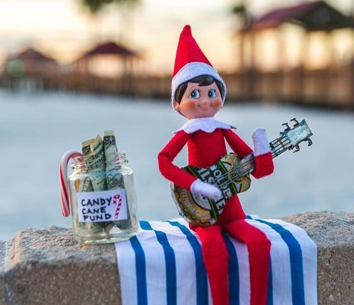 Buddy Gets Busted; Elf On Shelf Spotted Throughout Tampa Bay