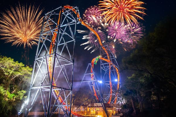 Dec 31 | New Year's Eve At Busch Gardens | Tampa, FL Patch