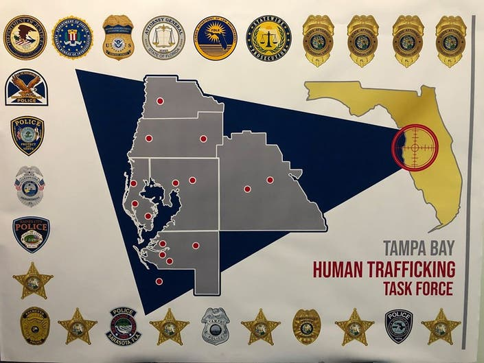 Grant To Fund Human Trafficking Task Force In Tampa Bay