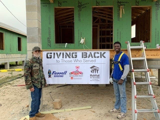 Army Veteran Receives Much Needed New Roof Thanks To Contractor New Port Richey Fl Patch