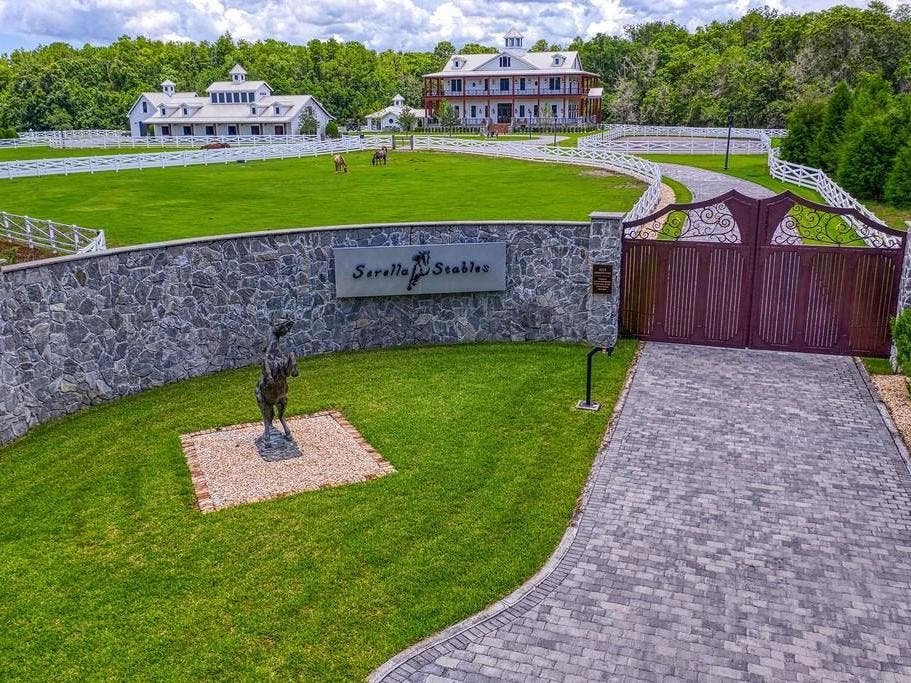 37-Acre Equestrian Estate Connects To Brooker Creek Preserve