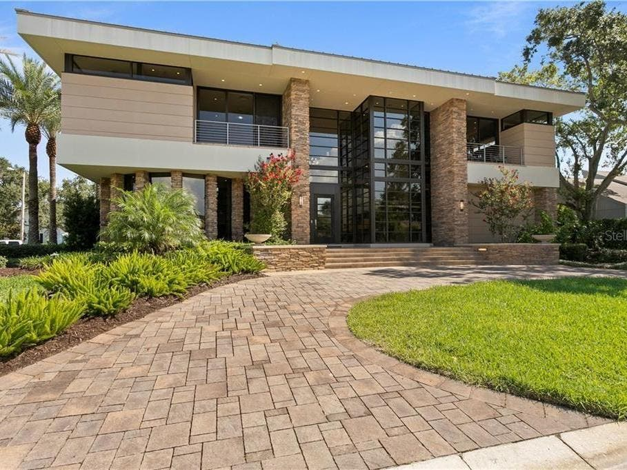 Tampa Home Designed By Well-Known Architect Available For $2.25M