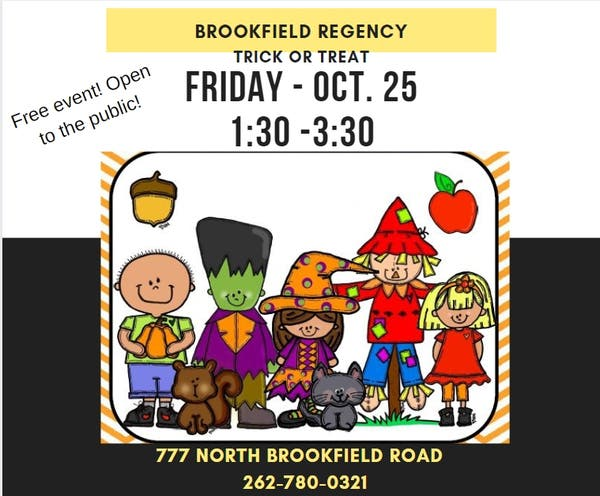 Trick or Treat at the Brookfield Regency