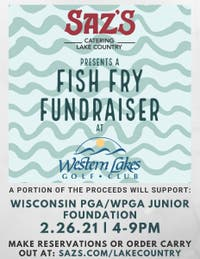 Western Lakes Golf Club Fish Fry Fundraiser (Dine In or Carryout)