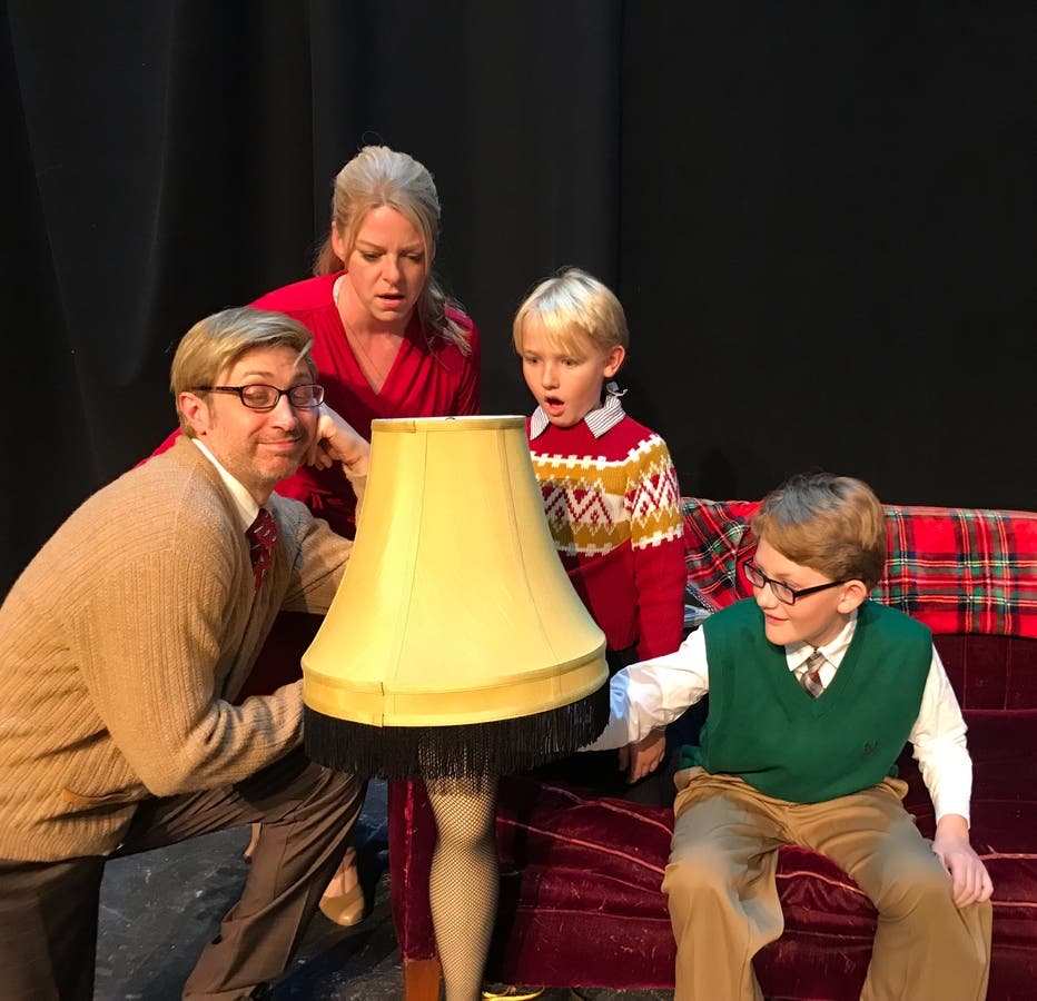 A Christmas Story Musical.A Christmas Story Opens Friday At Music Mountain Theatre