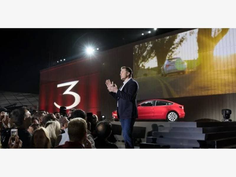 tesla hits model 3 price goal announces plan to close all stores oklahoma city ok patch. Black Bedroom Furniture Sets. Home Design Ideas