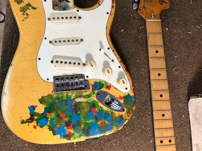 The Rest Of The Story About Billy Corgans Stolen Gish Guitar