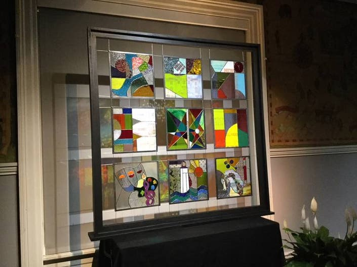 New Haven Library Window Dedicated to Jennifer Pugh