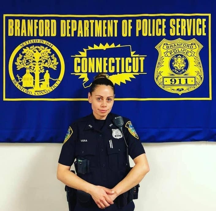 Branford Police Department Welcomes New Officer To The Force
