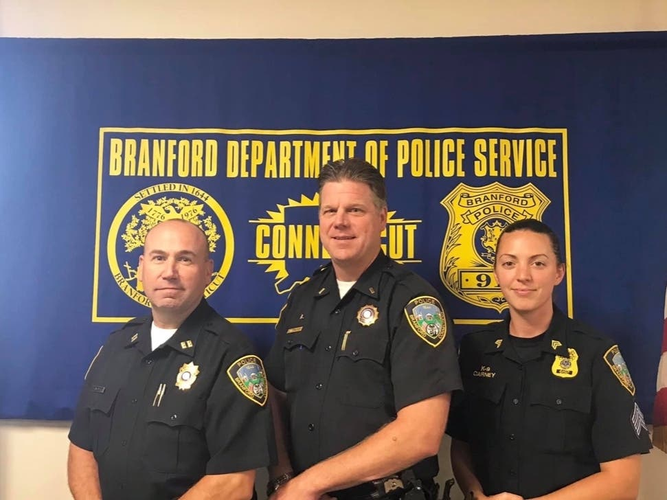 Branford Police Department Announce Several Promotions In