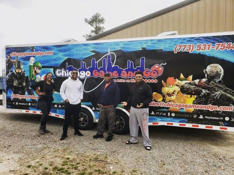 Local Family Opens Mobile Video Game Theater