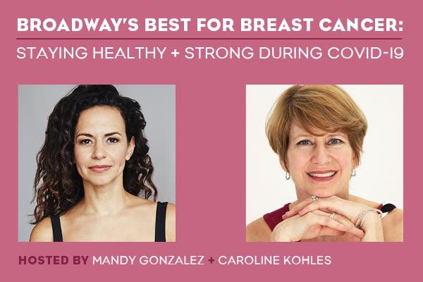 Broadway's Best for Breast Cancer! Co-hosted by Hamilton Star M