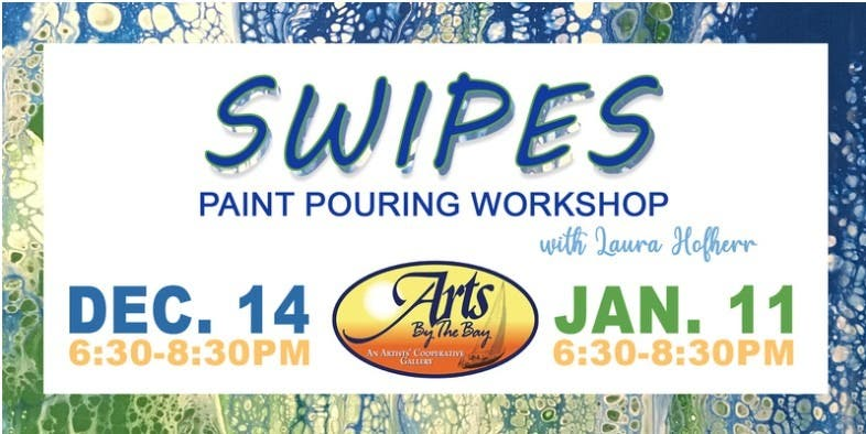 Swipes Paint Pouring Workshop