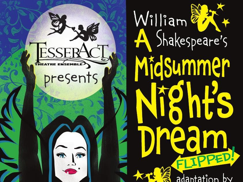 Upcoming Auditions for A Midsummer Night's Dream, Flipped