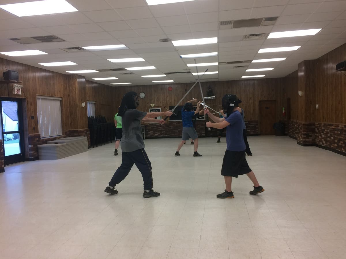Sword Fighting Makes a Come Back at Steel City Historical