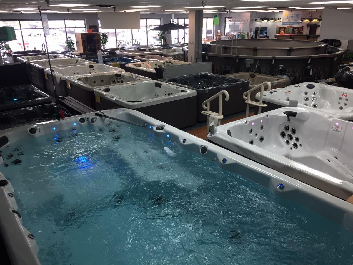 Swim Spa For Sale >> Dec 31 The Basements And Backyards 4 Day Hot Tub Swim Spa Sale