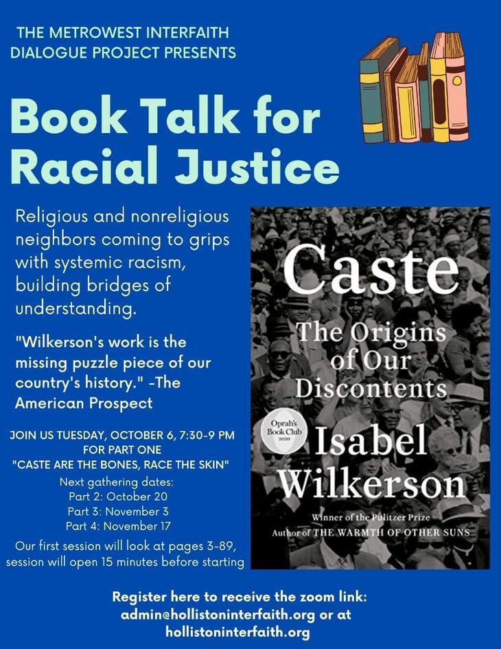 Book Talk on Racial Justice