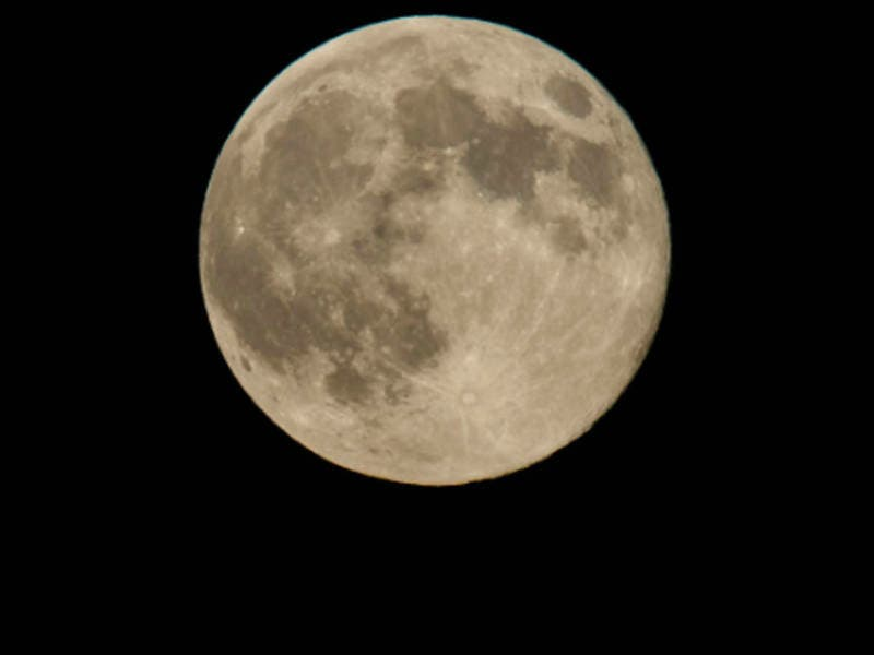 The March full moon, known as the full worm moon, is the last in a series of three supermoons.