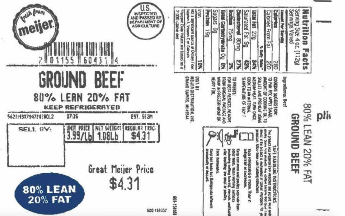 Beef Sold In Michigan Recalled For Plastic Concerns | Across
