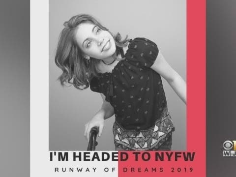 Bel Air Teen With Cerebral Palsy Modeling At Fashion Week
