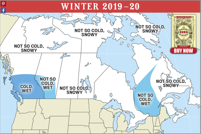 Snowy Or Wet: Almanacs At Polar Opposites With CT Winter