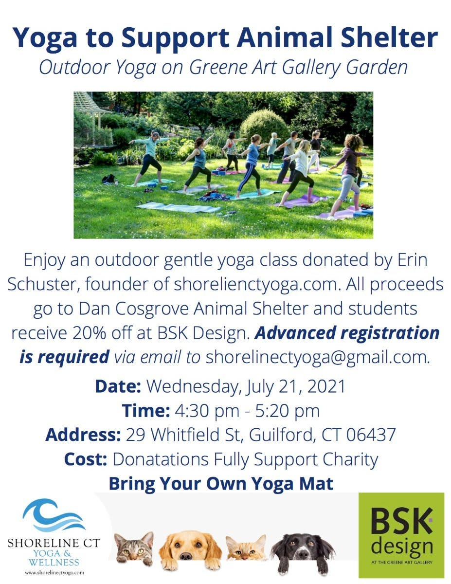Yoga to Support Animal Shelter