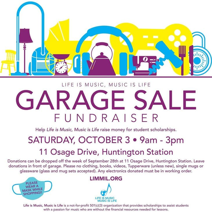 """""""Life is Music, Music is Life"""" Garage Sale"""