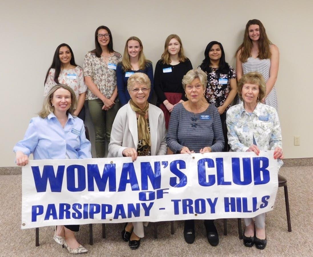 Parsippany's Woman's Club Awards High School Scholarships