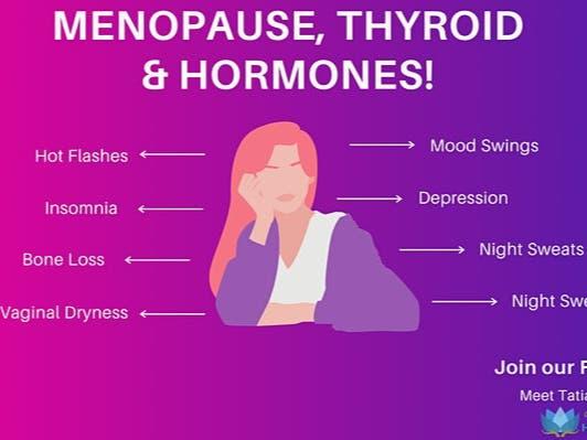 Menopause, Thyroid, Hormones. FREE WEBINAR