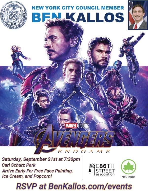 Sep 21 | Movies Under the Stars: Avengers: Endgame | Upper