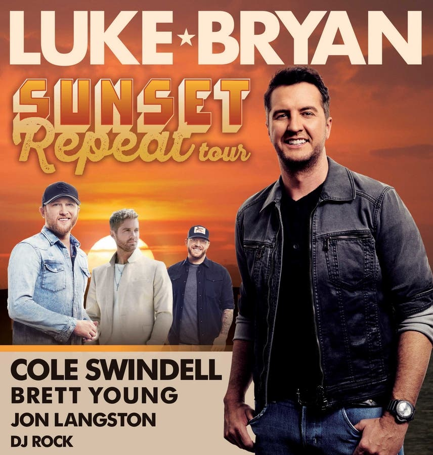 f4a238d885 Luke Bryant Returns To Gillette Stadium This Summer | Foxborough, MA ...