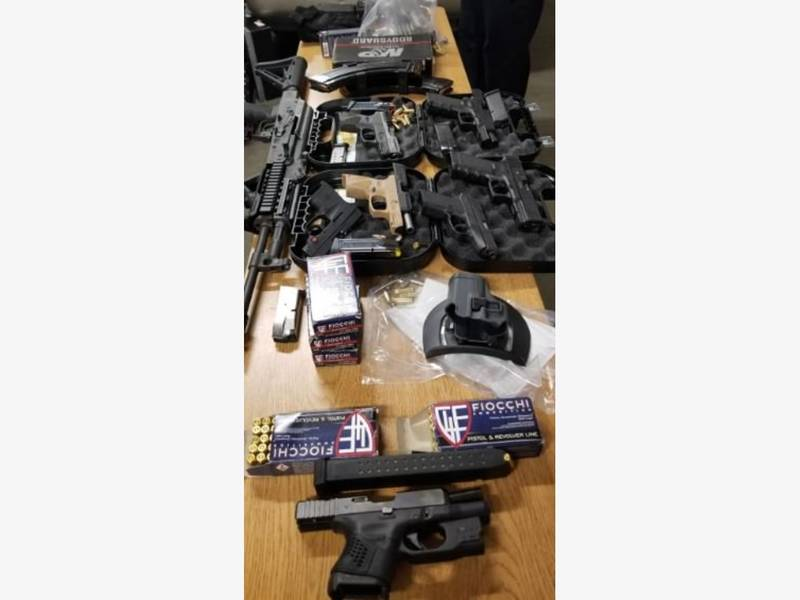 9 Guns Seized From 3 Tennessee Men: Brockton Police