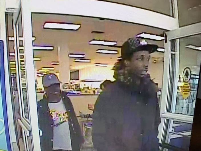Police are looking to identify a man and woman they said shoplifted from the Marshalls on Washington Street in Canton.