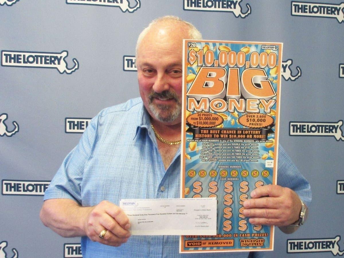 Braintree Man Wins $1 Million Lottery Prize | Braintree, MA