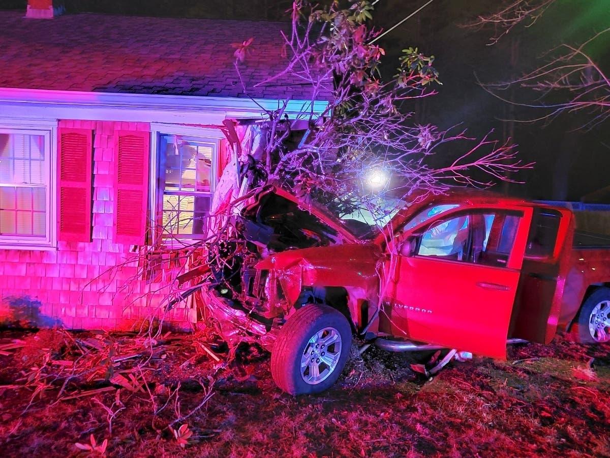 Drunken Driver Crashes Truck Into House: Police