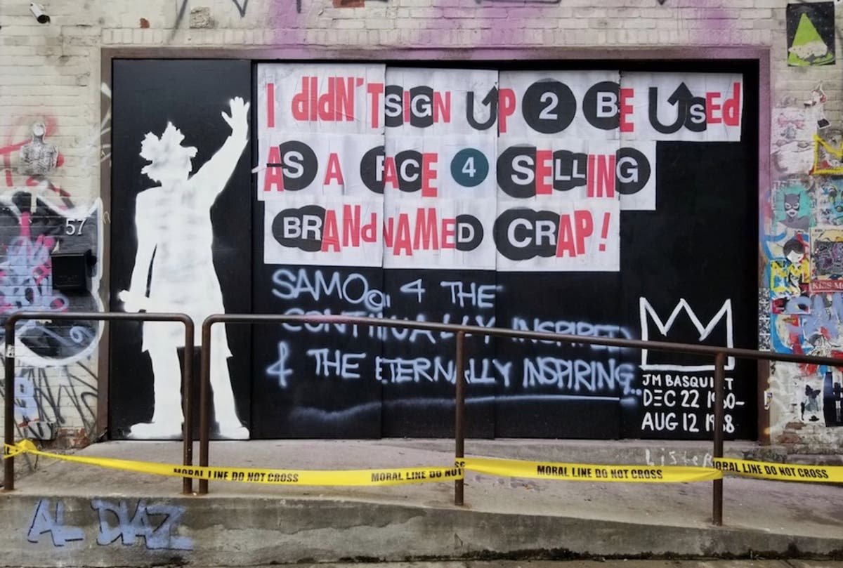 Artists Pay Homage To Basquiat On 30th Anniversary Of His Death