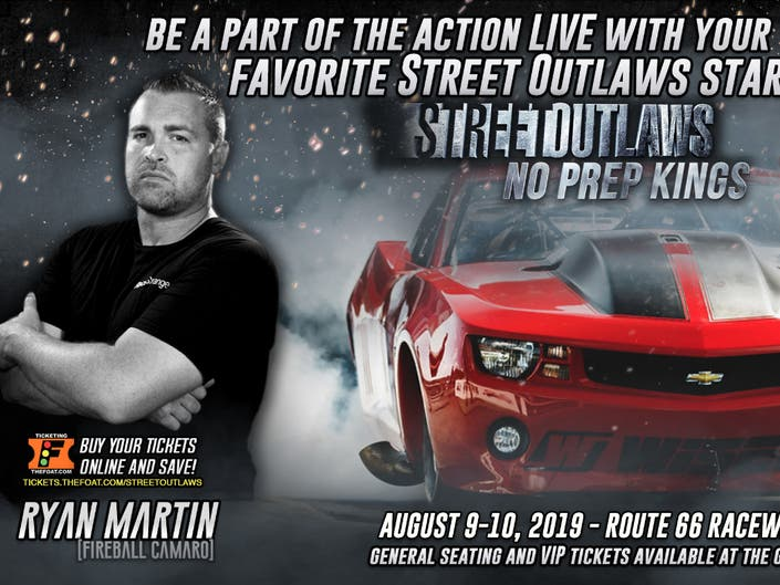 Street Outlaws Returns to Route 66, Filming Live Friday, Saturday