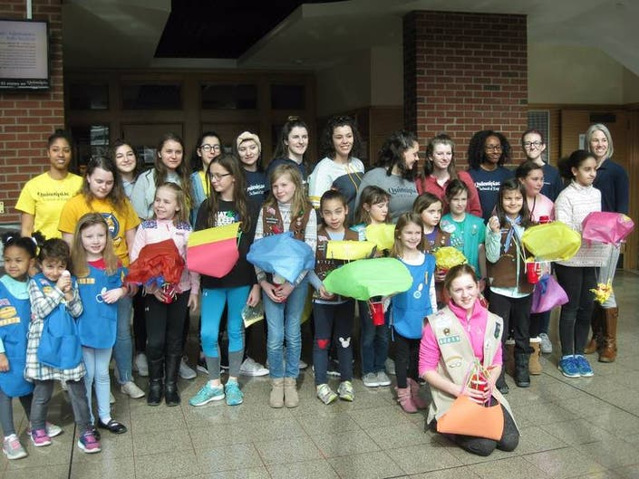 Girl Scout Engineering Day 2019