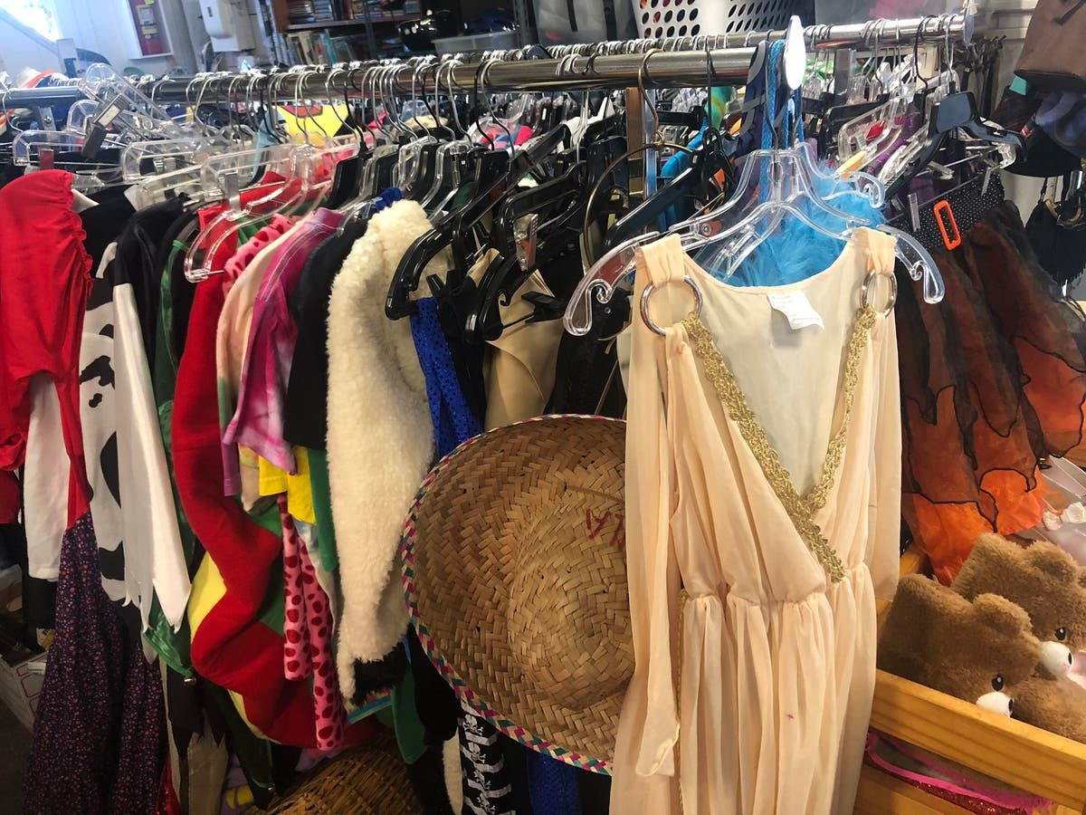 DBFL Marking Room is still loaded with Halloween costumes!