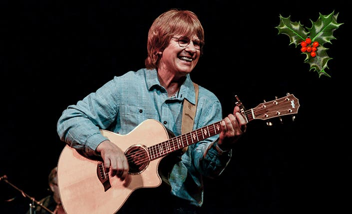 John Denver Christmas.Patchogue Welcomes Award Winning Chris Collins And Boulder