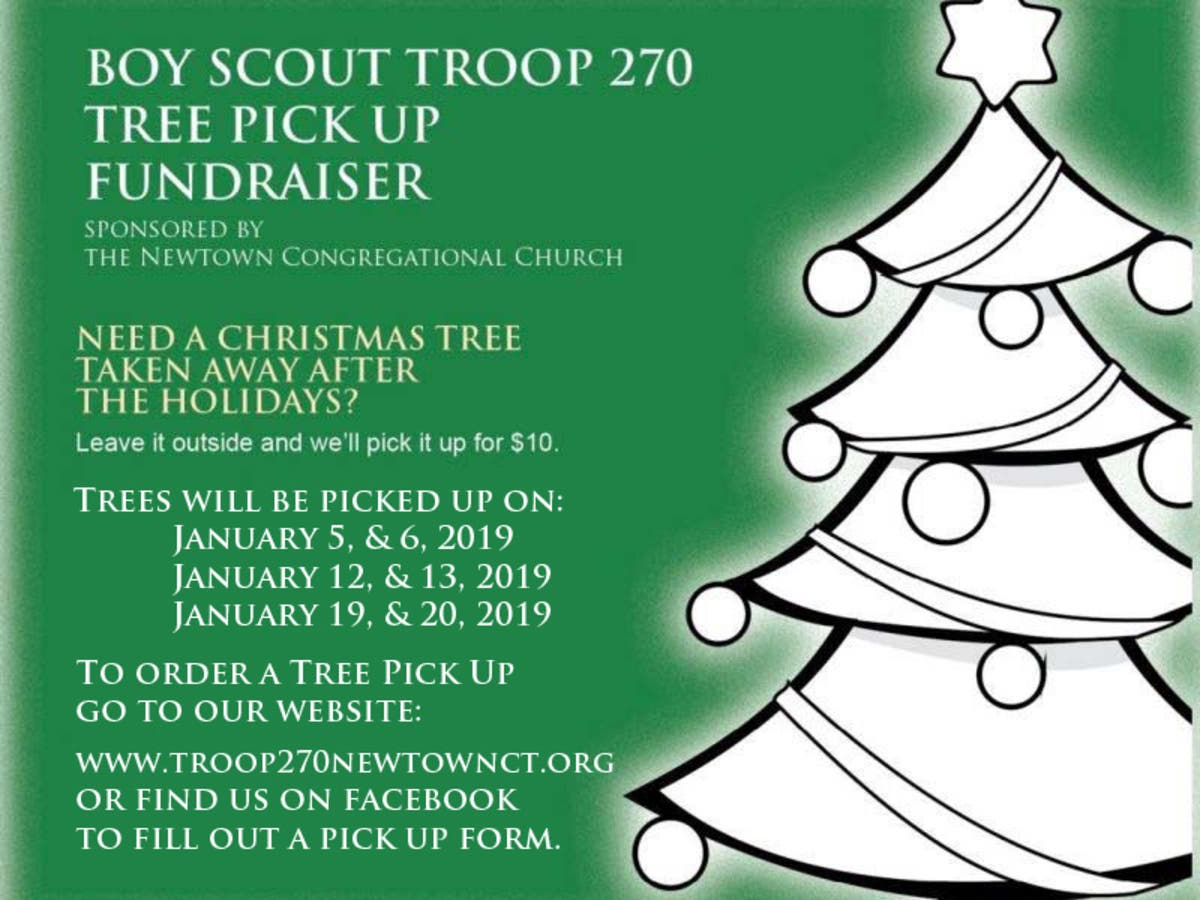 Christmas Tree Pick Up.Bsa Troop 270 Annual Christmas Tree Pickup Newtown Ct Patch