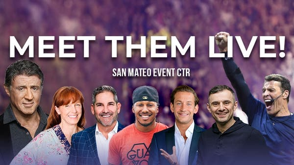 Real Estate Wealth Expo with Tony Robbins, Grant Cardone, & more