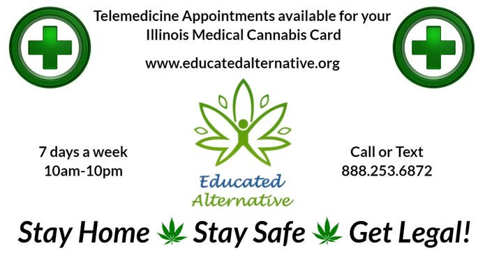 Get Your Illinois Medical Cannabis Card From Home!